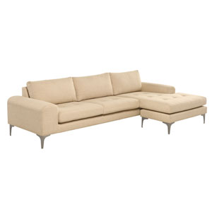 Colyn Matte Sand Sectional Sofa