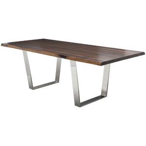Nuevo Versailles Seared 112 Inch Dining Table Hgsr414