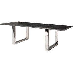 Lyon Oxidized Grey 78-Inch Dining Table