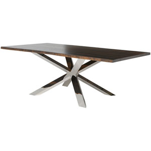 Couture Seared 96-Inch Dining Table