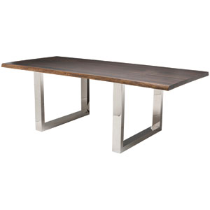 Lyon Seared 112-Inch Dining Table