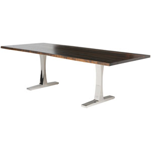 Toulouse Seared 112-Inch Dining Table