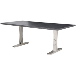 Toulouse Oxidized Grey 112-Inch Dining Table