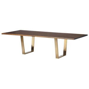 Versailles Seared 96-Inch Dining Table