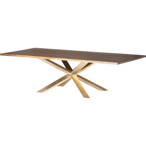 Couture Seared 112-Inch Dining Table