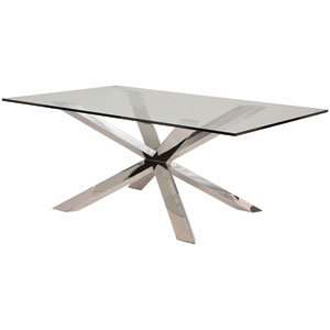Couture Clear Dining Table