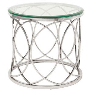 Juliette Glass Side Table