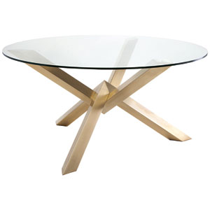 Costa Gold Dining Table