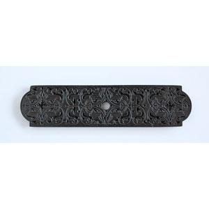 Dark Brass Renaissance Etch Back Plate