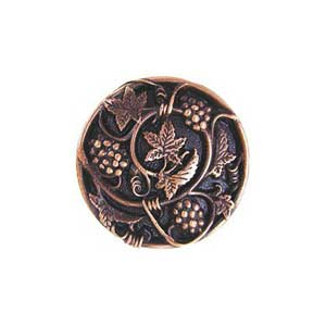 Antique Copper Grapevines Knob