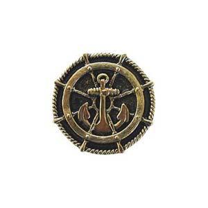 Brite Brass Ship's Wheel Knob