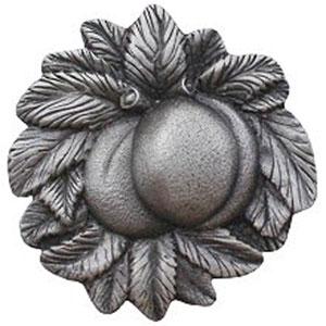 Antique Pewter Georgia Peach Knob