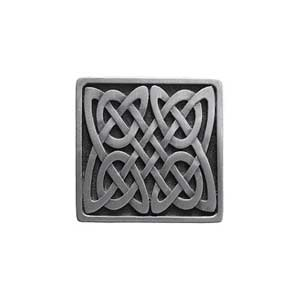 Antique Pewter Celtic Isles Knob