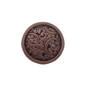 Antique Copper Saddleworth Knob