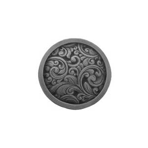 Antique Pewter Saddleworth Knob