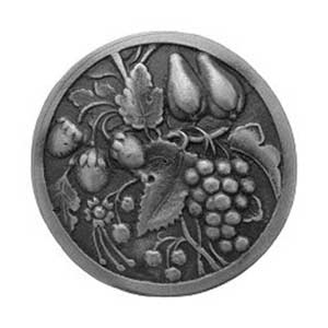 Antique Pewter Tuscan Bounty Knob