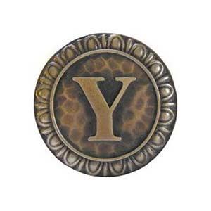 Antique Brass 'Y' Knob