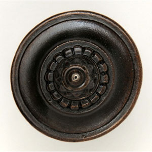 (Plain) Dark Brass Portobello Road Knob