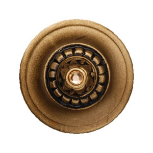 Portobello Road 24K Satin Gold Knob