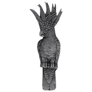 Brilliant Pewter Cockatoo Vertical Pull-Right