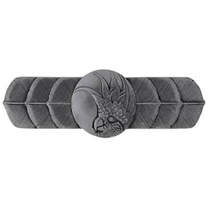 Brilliant Pewter Cockatoo Horizontal Pull-Right