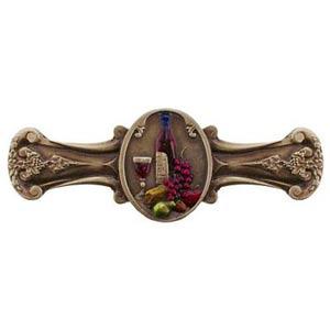 Hand Tinted Brass Best Cellar Drawer Pull