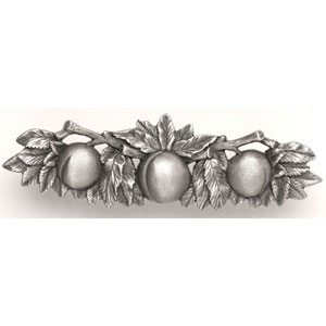 Antique Pewter Georgia Peach Pull