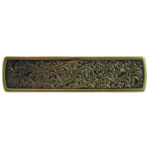 Antique Brass Saddleworth Pull