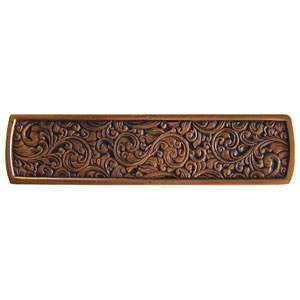 Antique Copper Saddleworth Pull