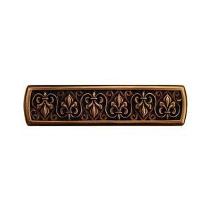 Antique Copper Fleur-de-Lis Pull