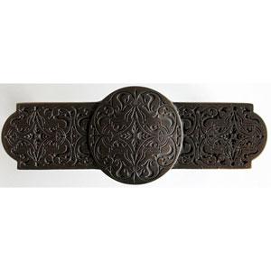 Dark Brass Renaissance Etch Pull