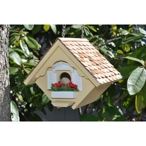 Yellow Little Wren House