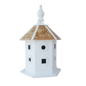 Signature Series White Large Danbury Dovecote Birdhouse