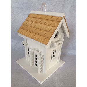 Hatchling Series White Arbor Cottage Birdhouse