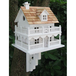 Novelty Cape Cod Cottage Birdhouse