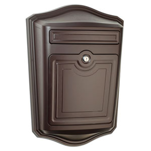 Maison Oil Rubbed Bronze Locking Wall Mount Mailbox