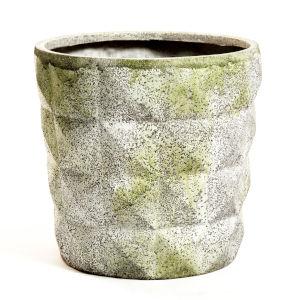 White Moss Fiberstone Paragon Pot