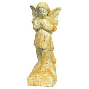Pompeii Standing Angel Praying Outdoor Statue