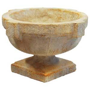 Pompeii Large Round Urn