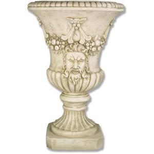 Antique Stone Centurian Urn