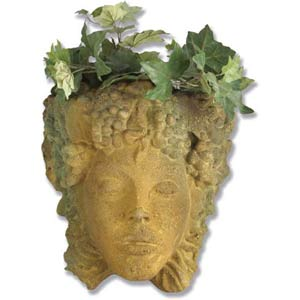 Sandstone Woman of Seasons Planter
