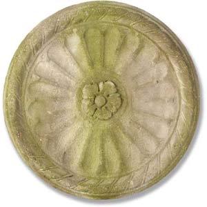 White Moss Belmont Medallion