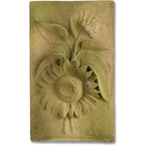 Verde Sunflower Plaque