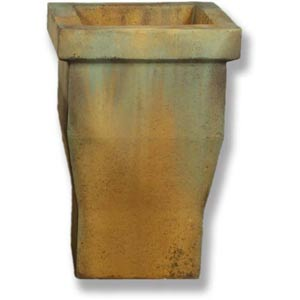 Urban Fiberglass Pot - Deep Sea Finish