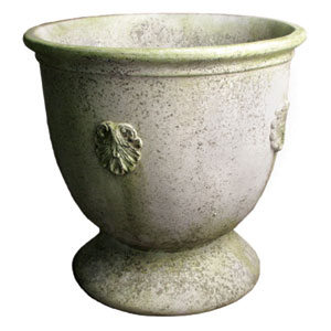 White Moss French Anduze Planter Medium