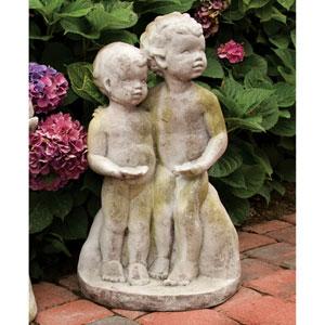 White Moss Standing Children