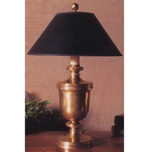Classical Antique Brass Urn Lamp