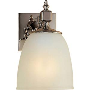 Polished Nickel Essex Single Formal Sconce