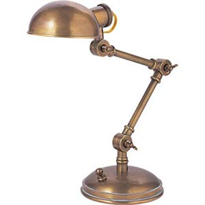 Hand-Rubbed Antique Brass Pixie Lamp