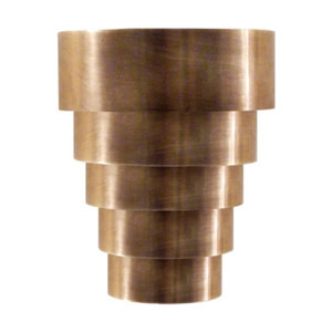 Studio Micah Sconce in Hand-Rubbed Antique Brass